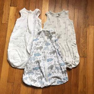 3 sleep sacks size small bundle